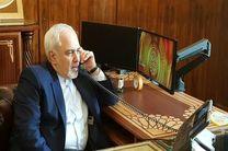 ظریف با وزیر خارجه چین تلفنی گفتگو کرد