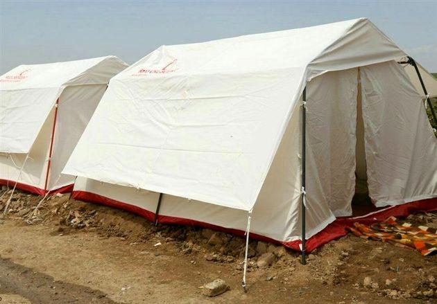 ۴۰۰ چادر و ۲۵۰۰ پتو برای امدادرسانی در زمان بحران در گلستان آماده است