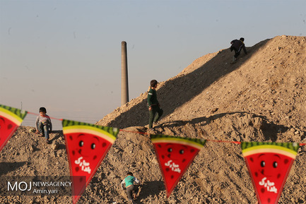 جشن شب یلدا با کودکان کار