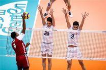 نتیجه بازی والیبال ایران و  لهستان/ پایانی بی انگیزه و کم رمق
