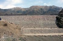پایان ساخت سد سنگی ملاتی در بشاگرد