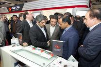 بازدید مدیرعامل بانک ملت از نمایشگاه بورس، بانک و بیمه