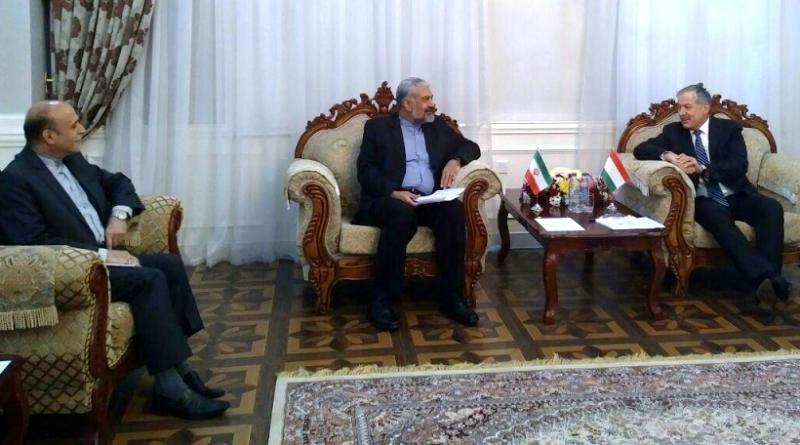 قائم مقام وزیر امور خارجه با مسئولان دولت تاجیکستان دیدار کرد