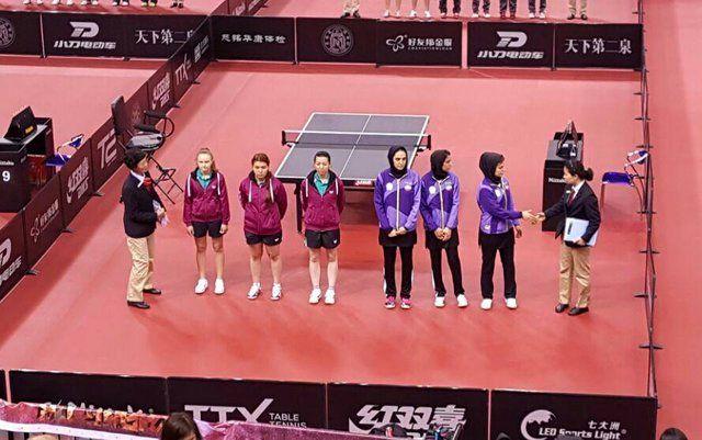 اسامی تیم ملی پینگ پنگ بانوان ایران برای مسابقات آسیایی اعلام شد