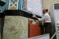 34 مسجد در منطقه ۶ غبار روبی شد
