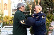 دیدار فرمانده نیروی هوایی ارتش با سردار غیب پرور