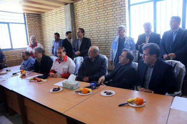 ستاد بحران با حضور «آخوندی» در یاسوج برگزار شد