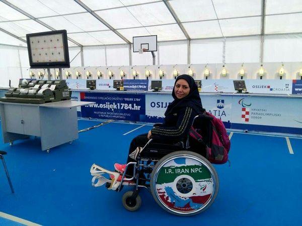 کسب سهمیه پارالمپیک 2020 توسط بانوی خوزستانی