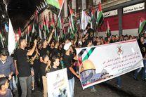 گزارشی از راهپیمایی گسترده روز جهانی قدس در دمشق