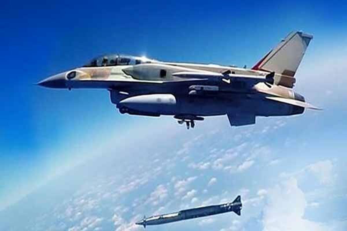 بمباران صعده واقع در یمن توسط جنگندههای ائتلاف سعودی