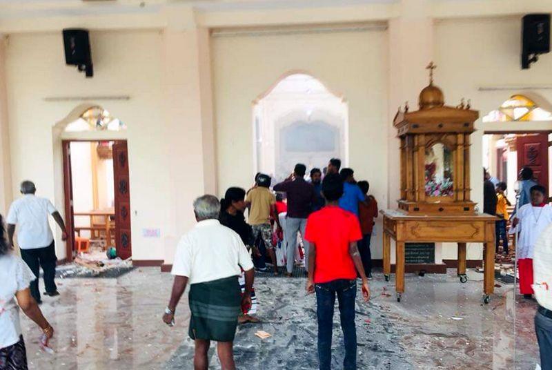 وقوع ۶ انفجار همزمان در سریلانکا