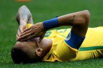 برزیل با نیمار مقابل عراق متوقف شد