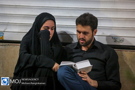 احیای شب بیست و یکم ماه مبارک رمضان در هیئت عشاق الحسین تهران