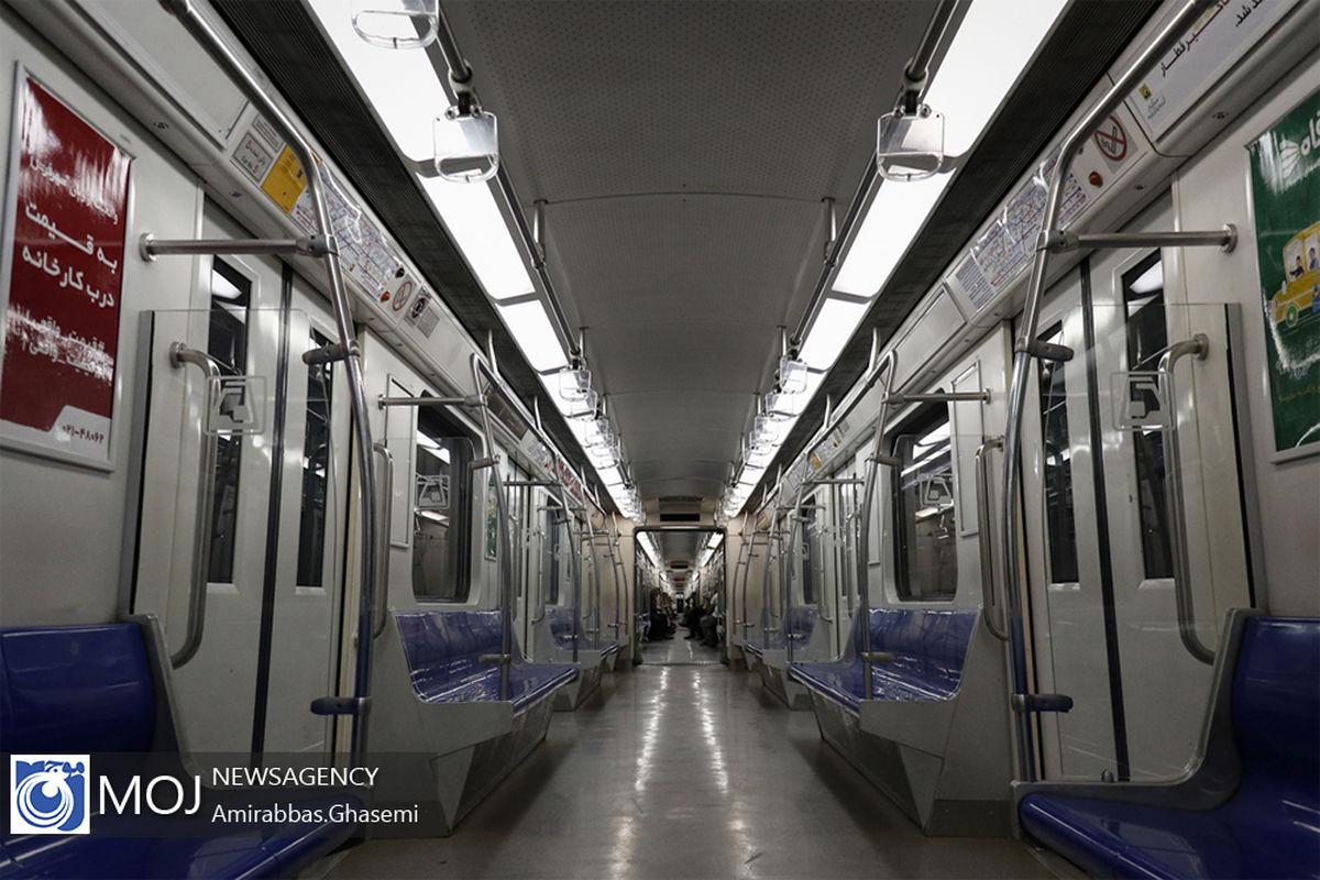 خدمات رسانی متروی تهران و حومه در روز عید فطر