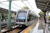 قطار شهری مشهد در فروردین ماه، ۳ میلیون سفر داشته است