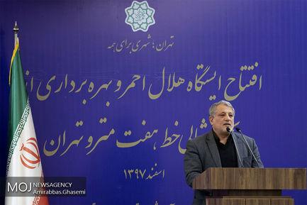 افتتاح بخش هایی از خط هفت مترو تهران