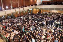 حضور شیخ الکعبی در مراسم بزرگداشت شهید آیت الله محمد محمد صادق صدر