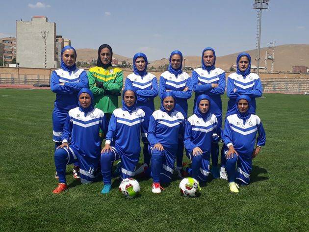 صعود تیم فوتبال بانوان ملوان به لیگ برتر