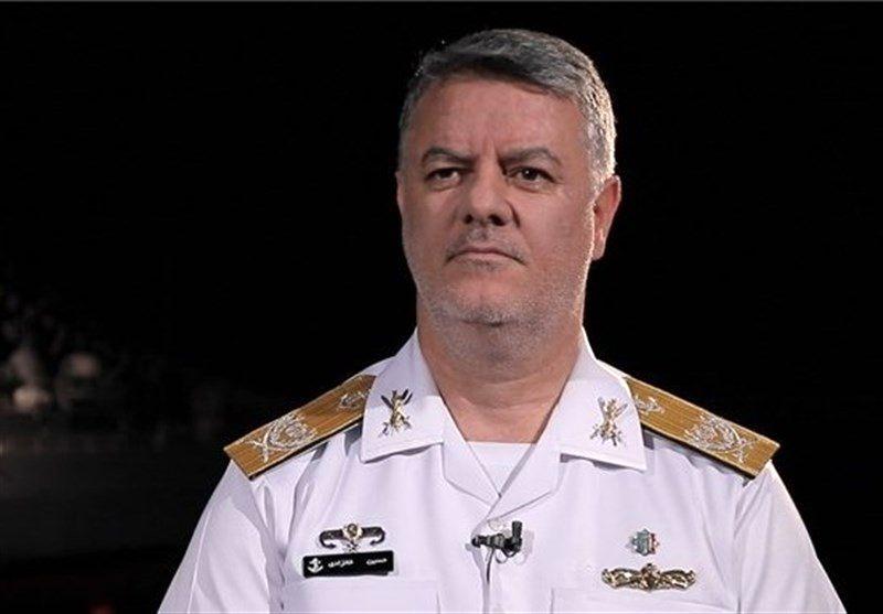 بازدید فرمانده نیروی دریایی ارتش از بیمارستان صحرایی نداجا در مرز چذابه