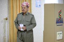 موافقت مشروط بارزانی با استعفا از ریاست اقلیم کردستان