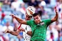 پایان نیمه اول دیدار تدارکاتی تیمهای ملی ایران و عراق