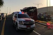 سانحه تصادف اتوبوس در بزرگراه عمان-دبی، 17 کشته برجا گذاشت