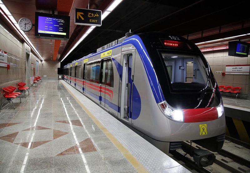 ایستگاه خط ۸ متروی تهران افتتاح شد