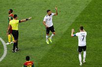 برد آلمان برابر کامرون و صعود به جمع 4 تیم