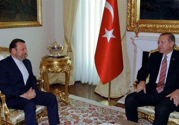 پیام کتبی حسن روحانی تسلیم رئیس جمهور ترکیه شد