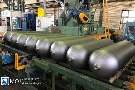 افتتاح کارخانه تولید مخازن CNG