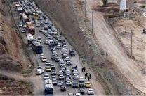 بار ترافیکی پرحجم و روان در مسیر بازگشت زائران حسینی