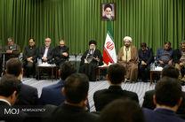 دیدار مقام معظم رهبری با جمعی از شاعران مذهبی