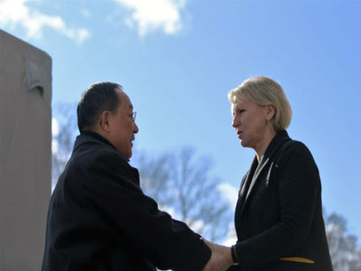 مذاکرات وزیران خارجه کره شمالی و سوئد پایان یافت