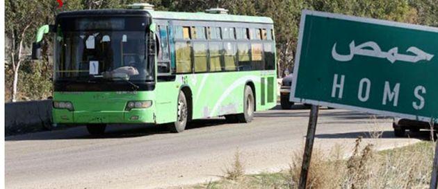 آغاز روند خروج عناصر مسلح از حمص