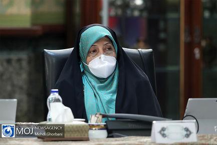 جلسه هیات دولت - ۲۷ فروردین ۱۳۹۹/ معصومه ابتکار