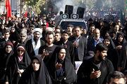 انبوهی از جمعیت تهران ارادت خود را در کمال آرامش به منصه ظهور رساندند