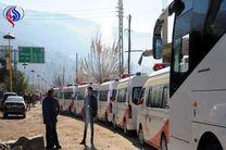 تولید دو اتوبوس متوقف شد
