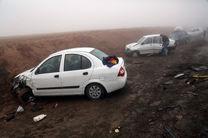 واژگونی خودرو در کویر مرنجاب 3 مصدوم بر جای گذاشت