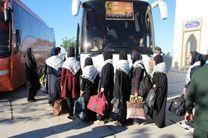 اعزام 8 دستگاه اتوبوس دانش آموزی به مناطق عملیاتی دفاع مقدس جنوب کشور