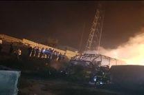 تصادف مرگبار اتوبوس و تانکر سوخت در سنندج/ 11 نفر کشته شدند