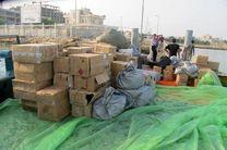 ۱۰۳ میلیارد ریال کالای قاچاق در کنگان توقیف شد