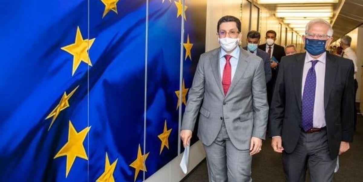 اتحادیه اروپا به ایران فشار بیاورد