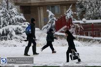 تداوم بارش برف و باران در کشور / کاهش دمای هوا در تهران