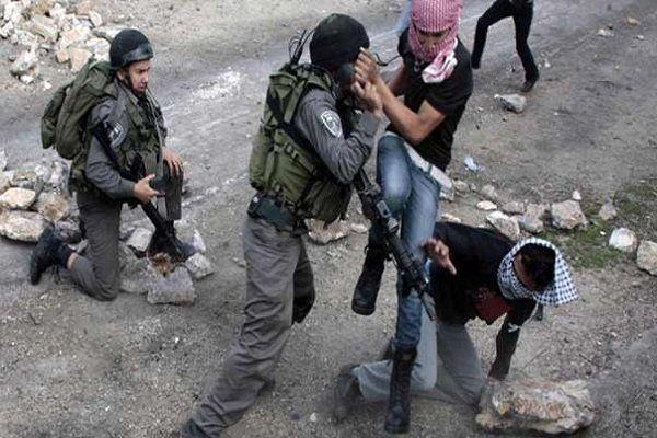 حمله وحشیانه نظامیان صهیونیستی به کرانه باختری