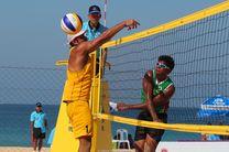 استادیوم عظیم والیبال ساحلی المپیک + تصاویر
