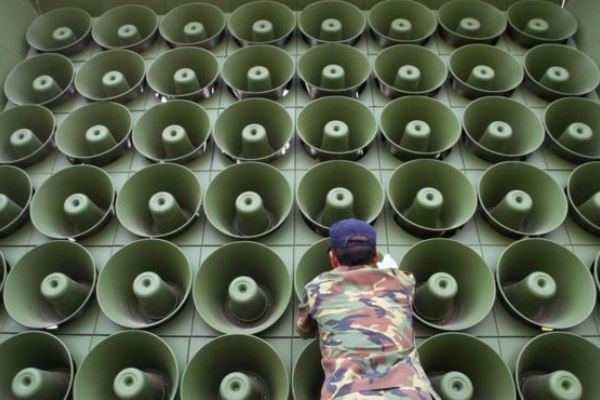 بلندگوهای مرزی ضد کره شمالی در سئول خاموش شد
