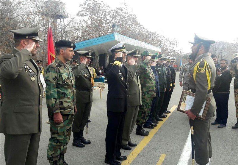 مراسم تحلیف سومین دوره درجهداری آموزشگاههای ارتش برگزار شد