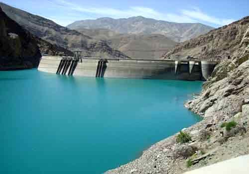 رهاسازی آب سد سفیدرود در گیلان