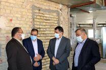 بزرگترین بیمارستان بحران جنوب شرق کشور در یزد، خرداد ماه بهره برداری می شود