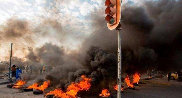 ۱۱۱ کشته در تظاهرات عراق / درگیری دوباره در بغداد، کربلا و بصره